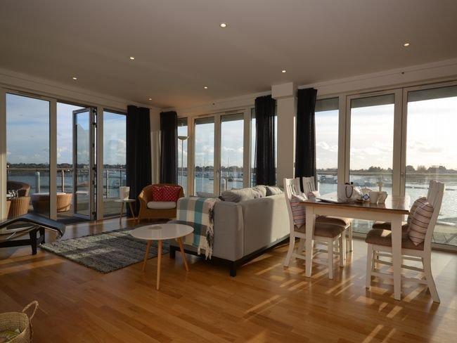 Ruim appartement met een adembenemend uitzicht