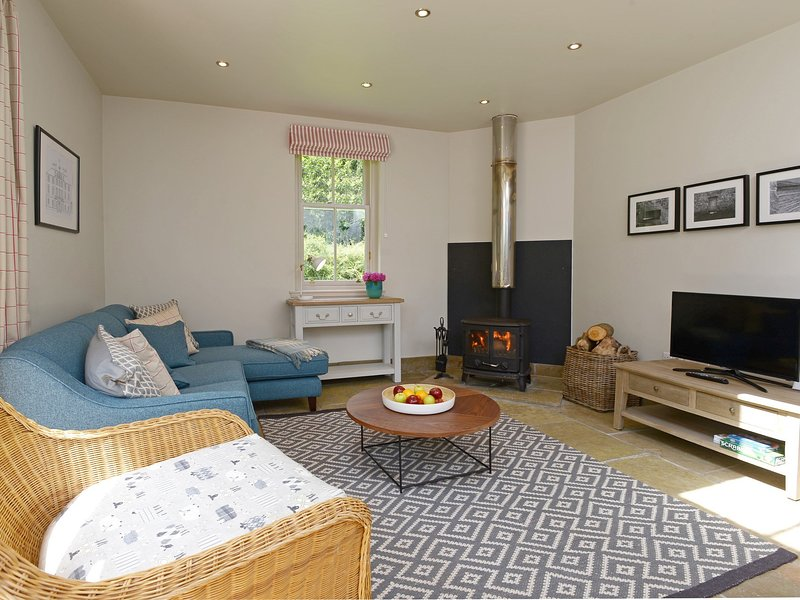 Enjoy the wood burner perfect for cosy nights in