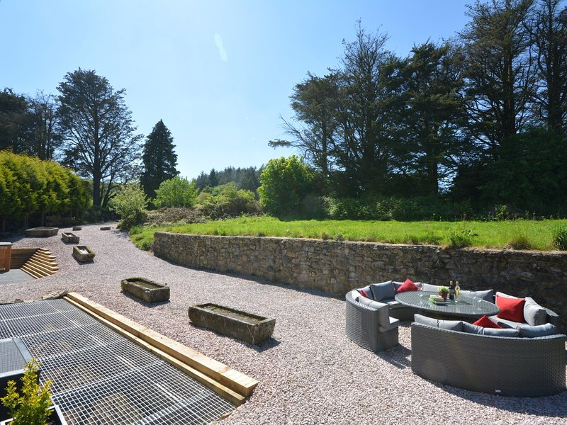 View from the property across the garden area