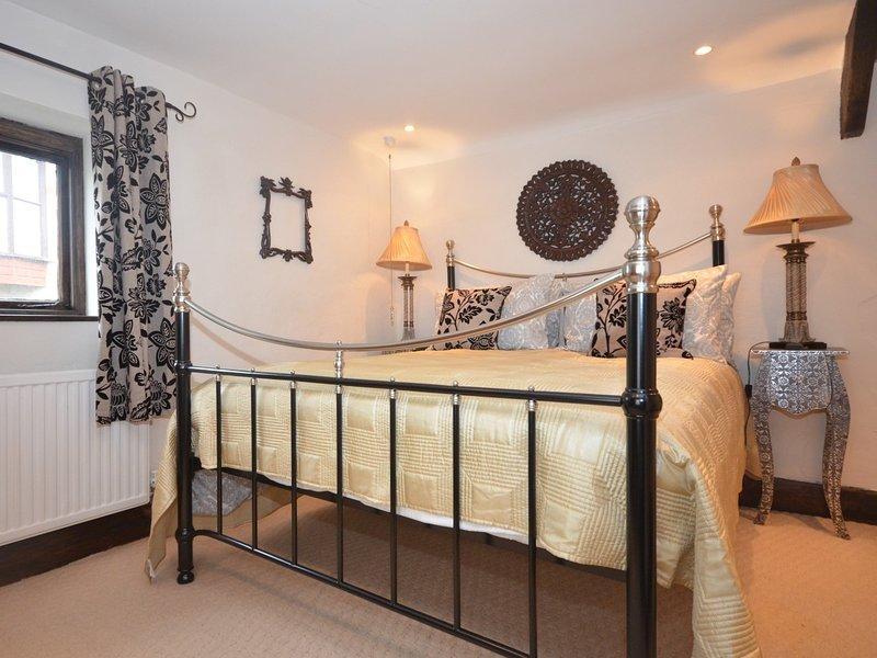Opulent king-size bedroom