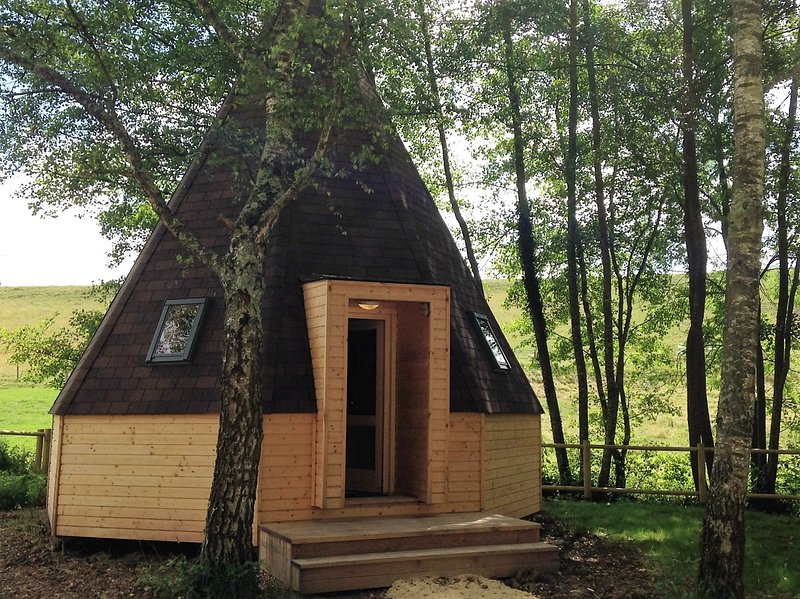 tipi, holiday rental in Verneuil