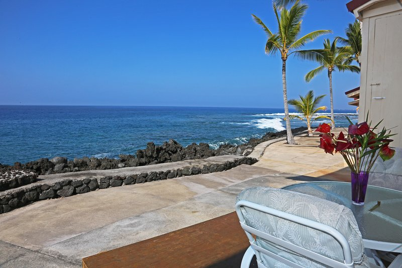 Views of the Kona Coast from your private lanai