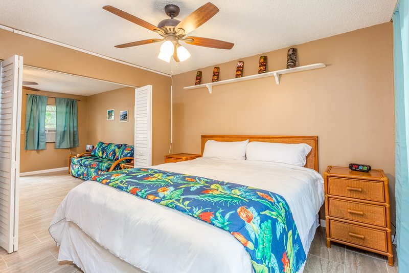 Bedroom Looking to Living Area