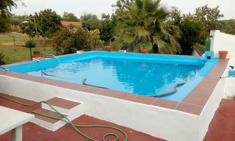 Nice villa with swimming-pool, holiday rental in Campo Maior