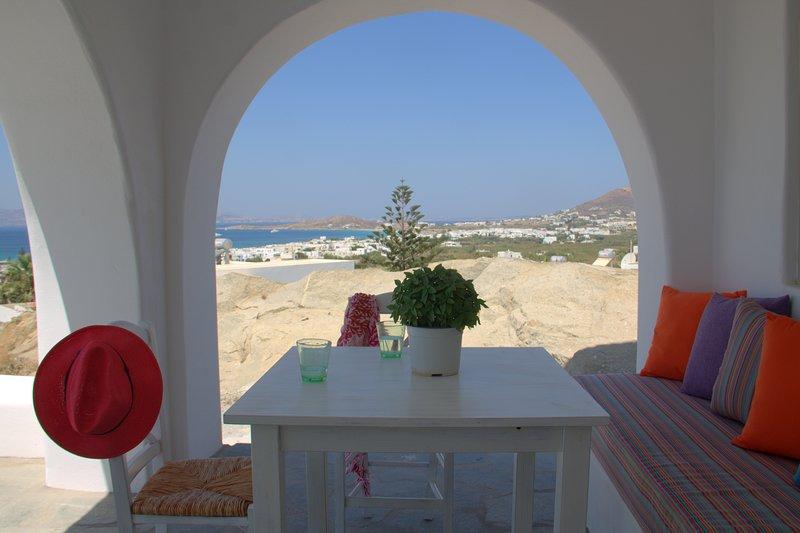 Psilotero Villa, aluguéis de temporada em Naxos