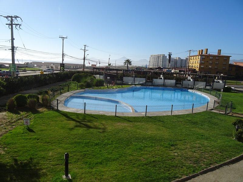 Departamento 1124 Vista Frontal al Mar, location de vacances à La Serena