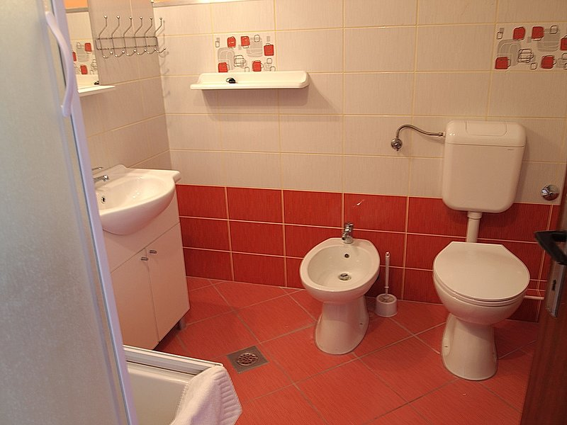 A1(4+1): bathroom with toilet