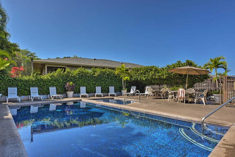 The tropical wonders of Kihei await at this charming vacation rental condo!