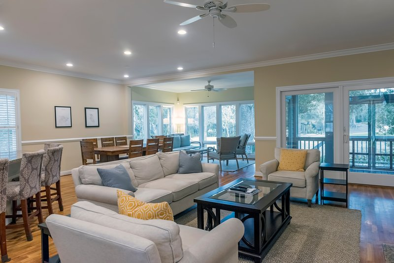 This home is great for families vacationing on Seabrook.
