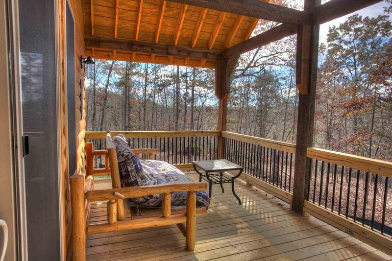 Seating on Covered Deck