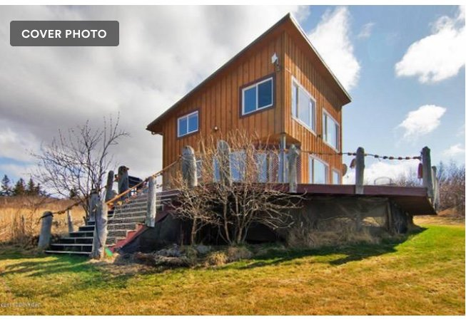 Low Tide Vacation Rentals: The Lookout, holiday rental in Fritz Creek