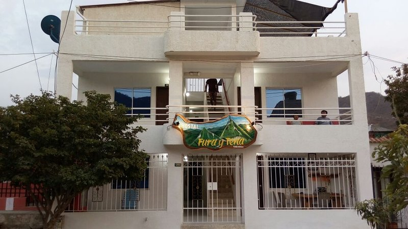 habitación familiar, alquiler de vacaciones en Taganga