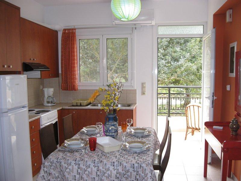 Denna lägenhet har allt du behöver! Gör en läcker måltid i vår fullt utrustade kök