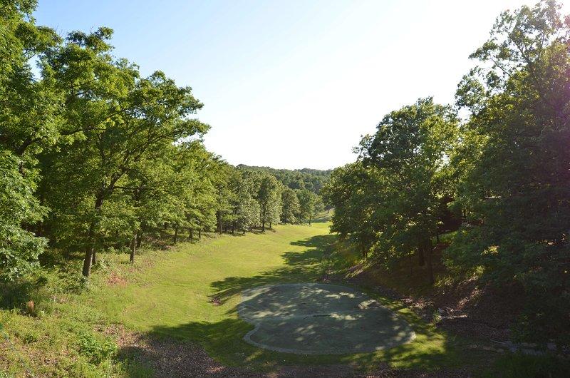 Wiesen, Wanderwege und Disc-Golf