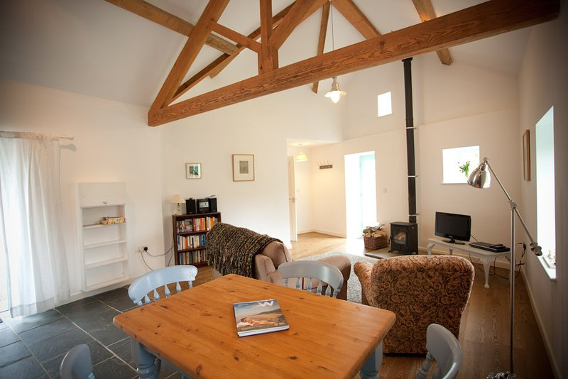 The Old Dairy Open Plan Living Room & Ktichen