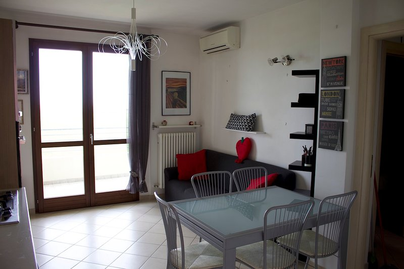 Appartamento Metaurilia, holiday rental in Stacciola