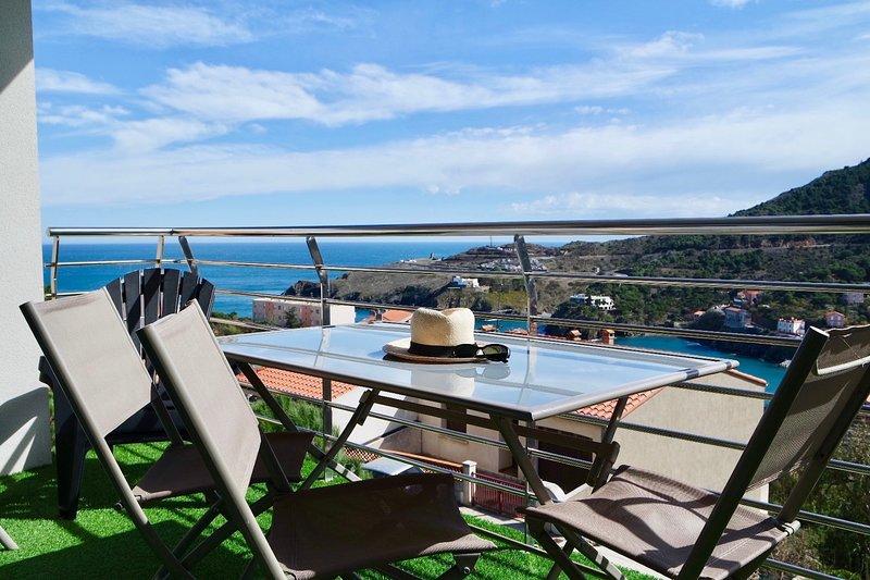Une belle vue Cap Cerbère