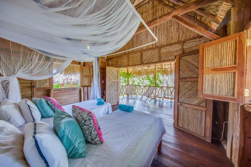Eden on the Chocolata 3 - Comfortable and luxurious cabana in nature, holiday rental in Playa Marsella