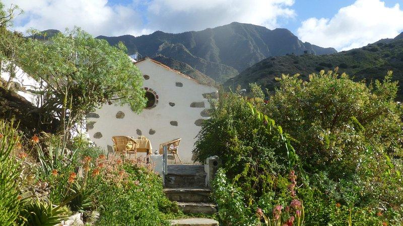 El Tangaro, charming holiday house in La Gomera, aluguéis de temporada em Agulo