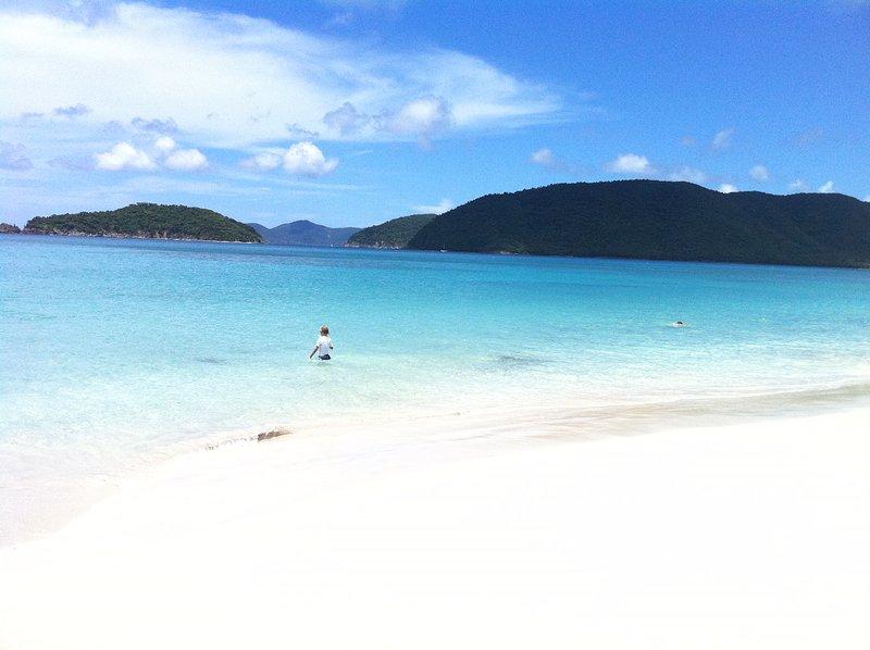 2 beachfront condos sapphire beach resort marina st thomas usvi