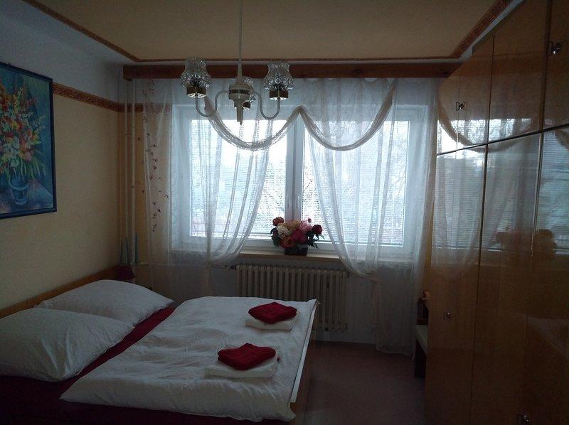 The house is on the route Prague, Tábor, České Budějovice, alquiler vacacional en Sazava