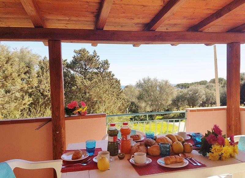Maison Pintada_Appartamento a 150 mt dal mare, holiday rental in Sos Alinos