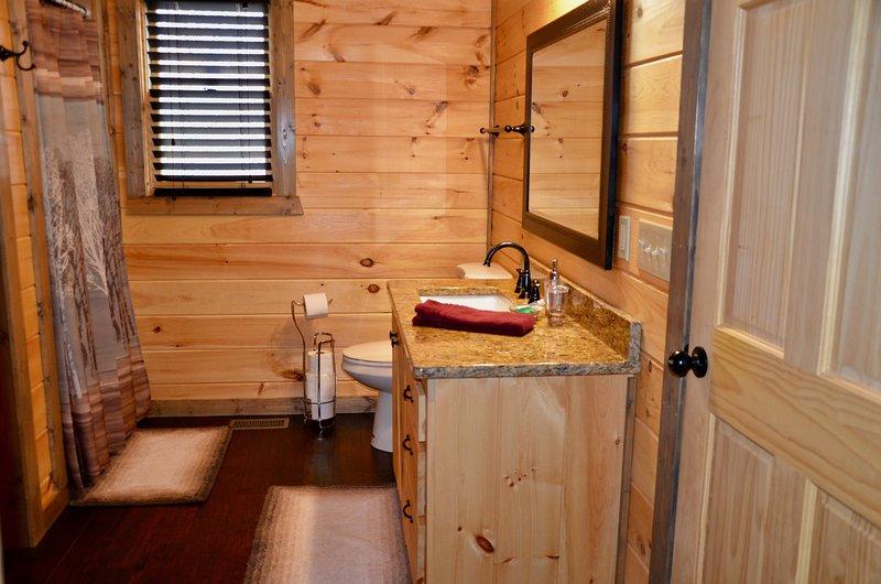 Baño principal w / ducha