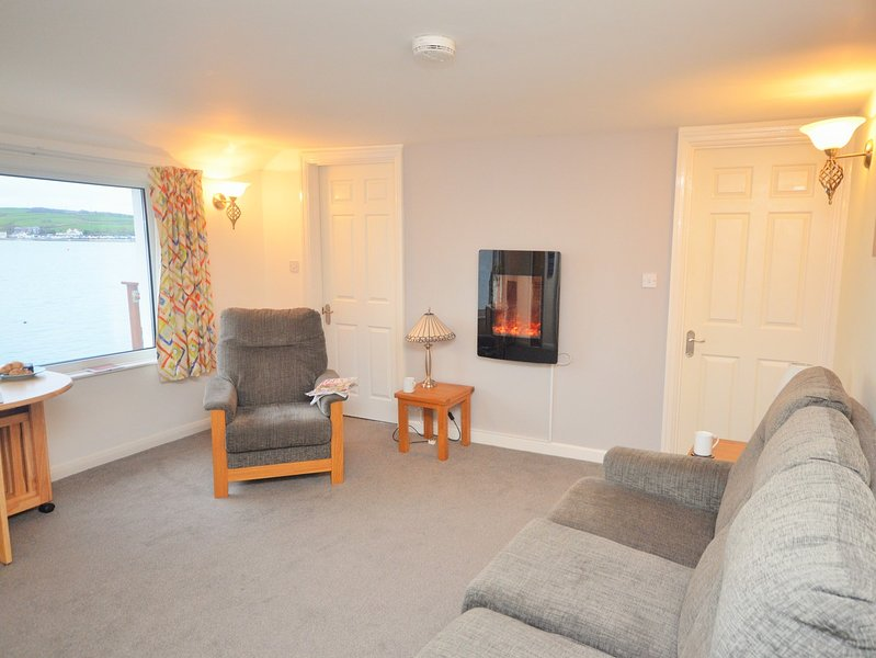 Dining area with views across to Instow