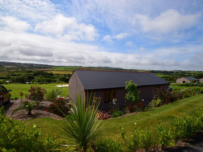 View towards the property with far reaching views