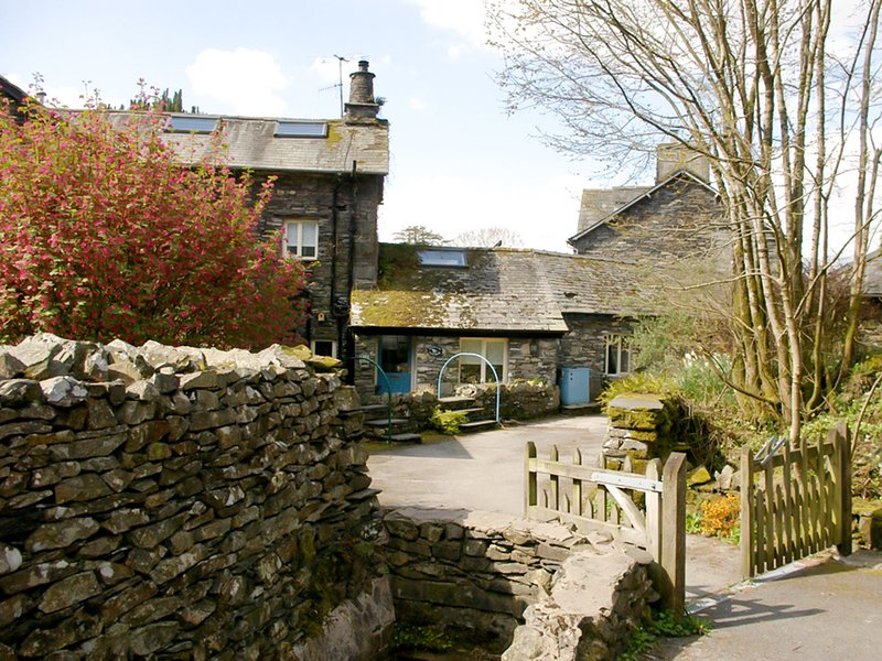 Secluded cluster of houses just outside the village of Hawkshead