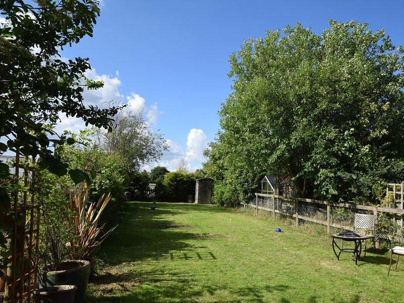 Precioso jardín, ideal para relajarse