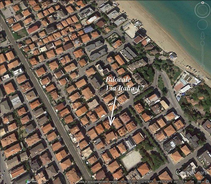 aerial apartment Vista area