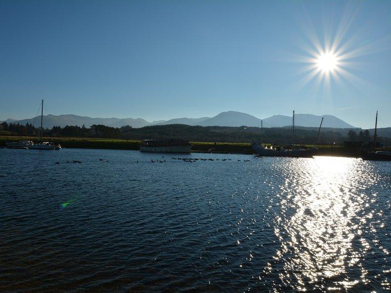 Loch Lochy within easy reach