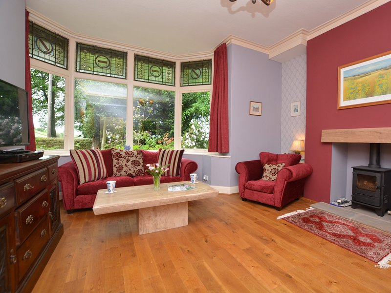 Bright and colourful lounge