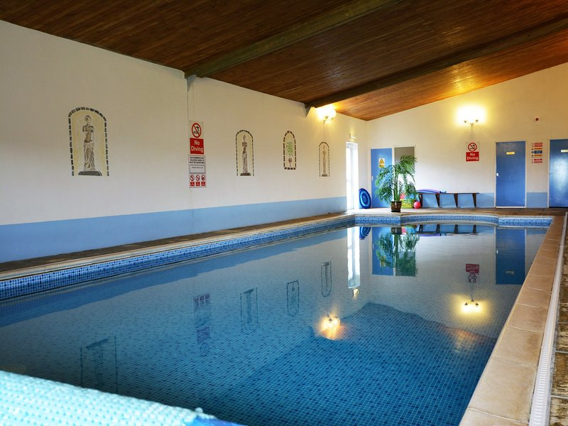Heated indoor swimming pool open all year