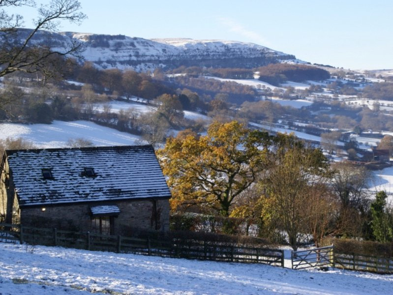 A light dusting of snow!