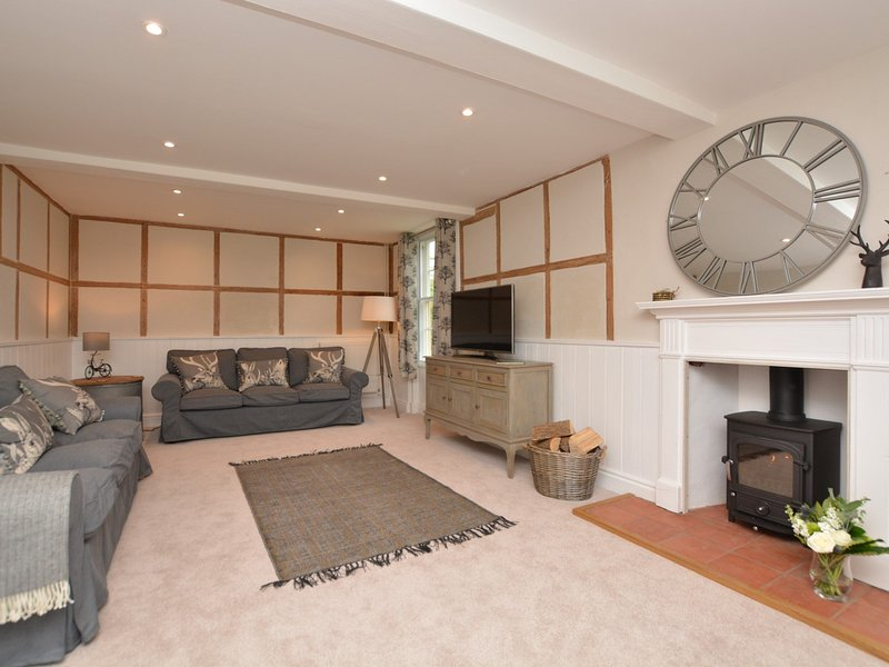 Finished with country charm,the lounge offers a wonderful space to catch up with friends and family
