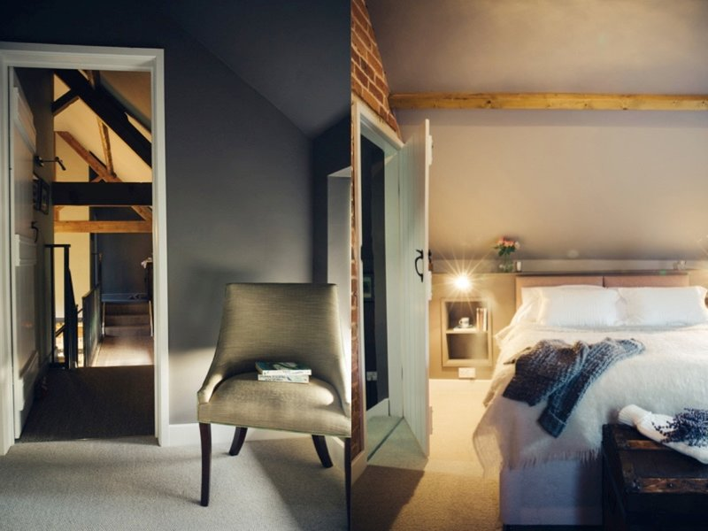 One of six beautiful bedrooms,all linen is provided