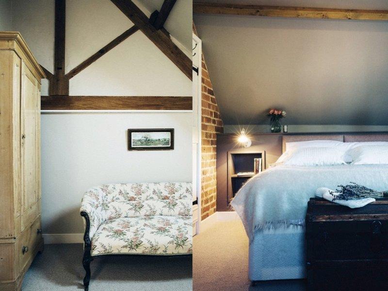 Super-kingsize bedroom