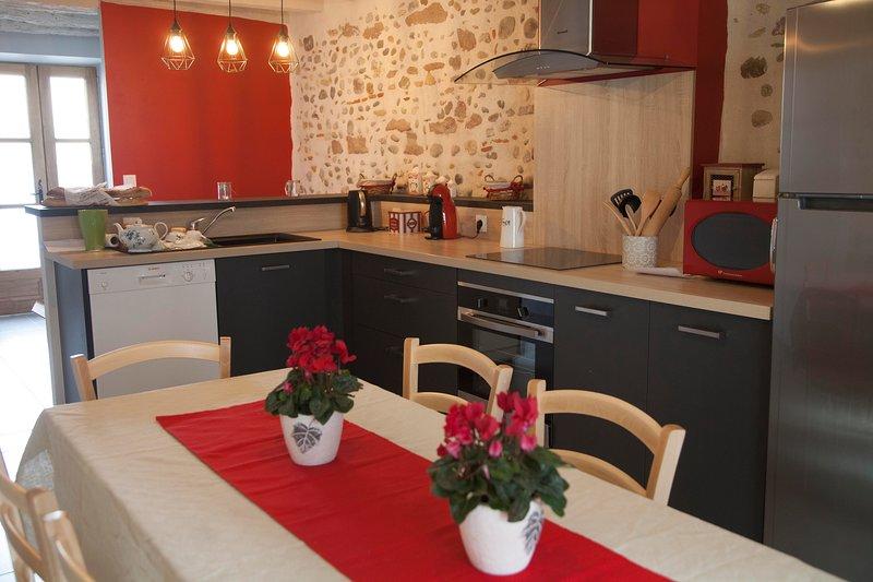 Gite 8 personnes en centre ville de Mirepoix, vacation rental in Mirepoix