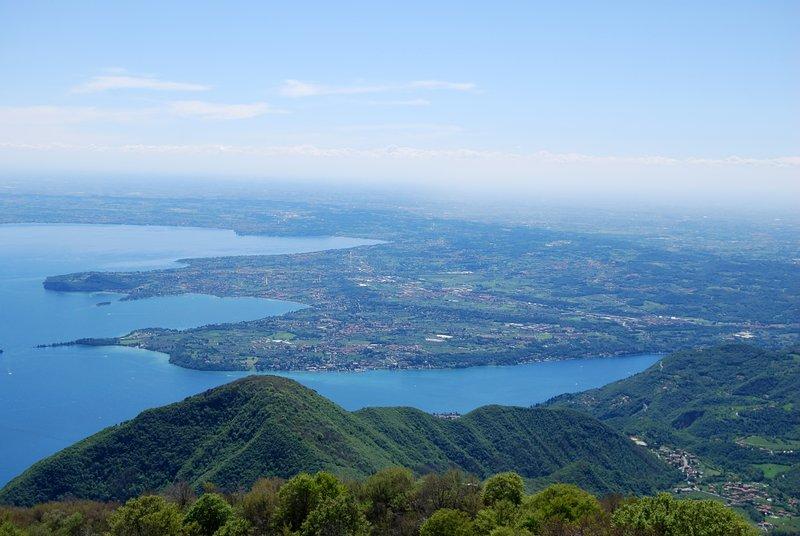 Promontoire de San Felice vue de Pizzocolo