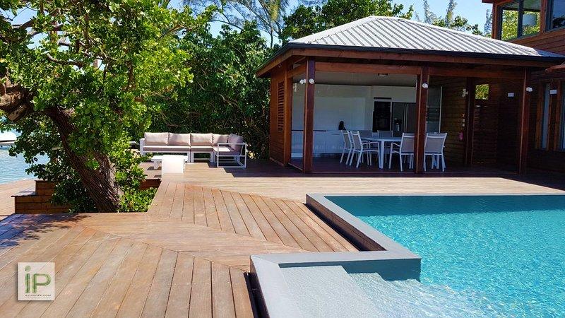 Villas de luxe à louer sur île privée, location de vacances à Baie-Mahault