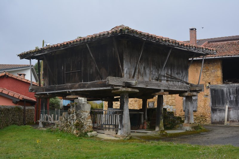 Granary in the village