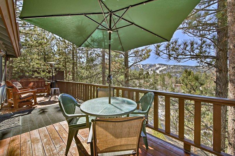 Vistas de Big Mountain esperan en este 2 dormitorios, 2 baños casa de alquiler de vacaciones!