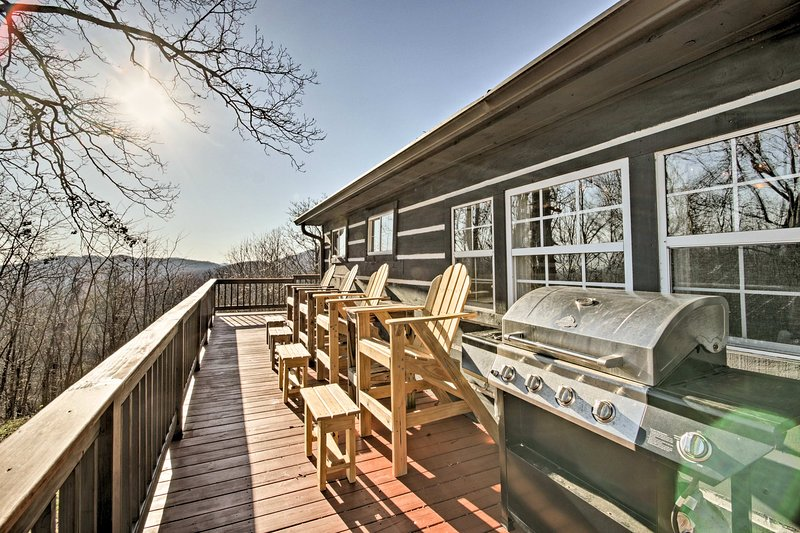 Discover the beauty of Moravian Falls at this vacation rental cabin!