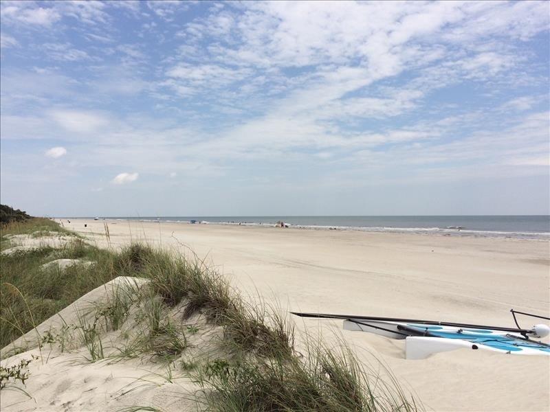 Steps Away to a Wide Flat Beach