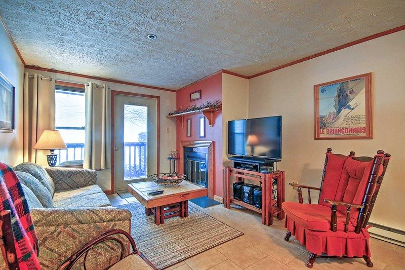 Organizza il tuo prossimo fuga alpino a questo 2 camere da letto, 2 bagno di affitto condo.