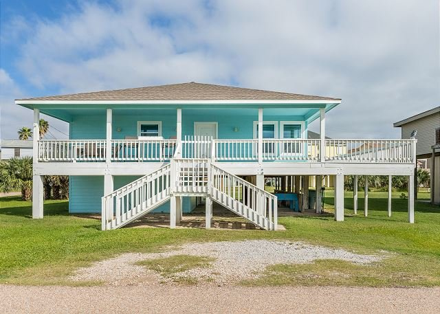 Gulf-View Coastal Retreat | Near Jamaica Beach, Schlitterbahn, Moody Gardens, location de vacances à Galveston