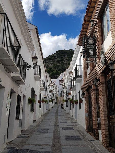 Senhorita Pueblo uma aldeia local