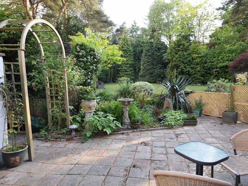 Enjoy the patio area on a summers evening